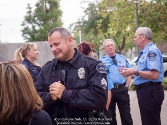 Ridiculously photogenic policeman.. :)